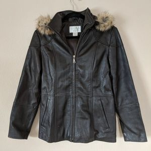 Worthington Genuine Leather Jacket